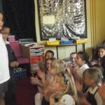 Christos and Cara are Toucans school councillors