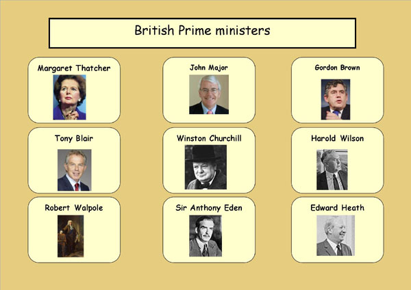 British Prime ministers2